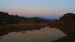 Dam at Ambawala, Morni hills