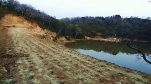 Embankment at Dam near Katli