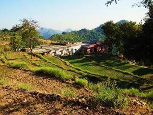 Houses at Gajhan,Morni Hills