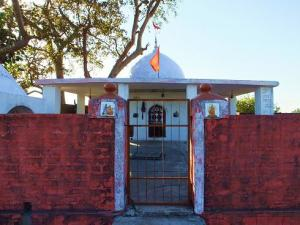 Temple at Gajhan,Bhoj Balag, Morni Hills