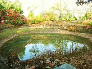 Water harvesting pond, Chandrawal Kunj