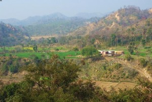 Banswala (Water Harvesting Dam in the background),Bhoj Ponta, Morni Hills
