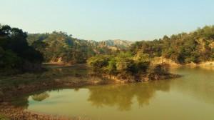 Main reservoir at Aasrewali