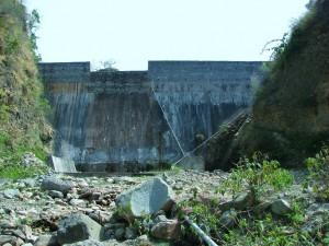 Masonry Dam at Bharal, Thapli panchayat