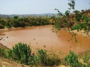 Smaller reservoir at Aasrewali