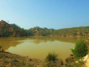 Water Harvesting Dam, Banswala,Bhoj Ponta, Morni Hills