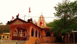 Chandi-Mata Mandir, Chandimandir village, Pinjore-Morni