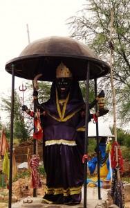 Idol of Chandi at Chandi-Kotla