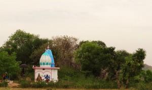 Chandi temple at Chandi-Kotla, Pinjore-Morni