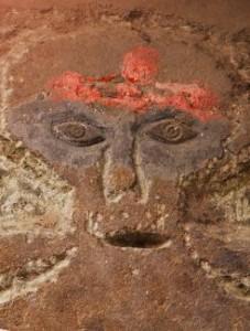Rock carvings at Chandi-ka-Garh