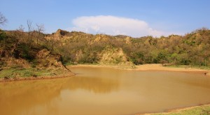 Water Harvesting Dam at Muwas, Morni foothills