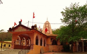 Chandidevi temple  at Chandimandir