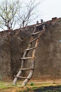 The crooked ladder, Chaudhury-ka-vas