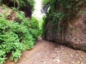 The narrow passage
