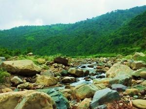 Ghaggar bed at Chhamla village, Morni hills