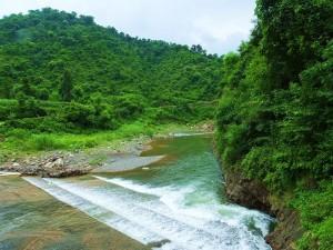 Ghaggar river at Chhamla Bridge