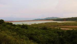 Kaushalya Dam Reservoir, August 2013