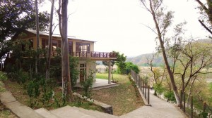 Reception building, Nature Camp Thapli