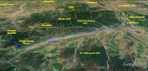 Route to Nature Camp Thapli