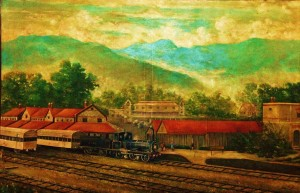 Dehradun Railway Station in the colonial era