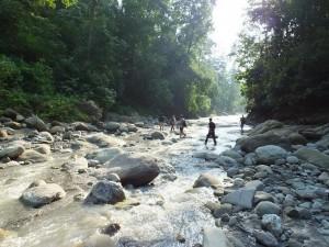 River crossing, Moriya sot