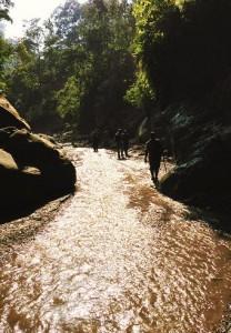 Sparkling waters of Moriya sot