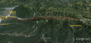 The 25 KM hill drive to Dharkot