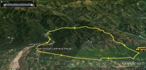 Walk through Laldhang Range