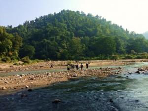 Walking up the Rewasan valley