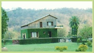 Log Hut, Kansal forest, Sukhna Wildlife Sanctuary, Chandigarh Shivalik Hills