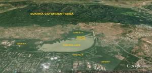 Catchment area of Sukhna Lake