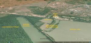 Sukhna Lake- Regulator end