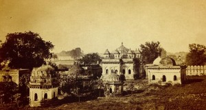 Tombs of Gond Rajahs of Chanda (1865)