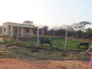 Eco-Task Force Nursery & Quarters, Asola-Bhatti Wildlife Sanctuary