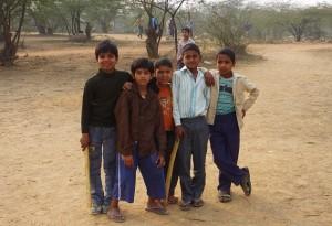Gilli-Danda Gang, area bordering Sangam Vihar, Asola-Bhatti Wildlife Sanctuary
