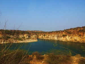 Lake Peacock, Asola-Bhatti Wildlife Sanctuary