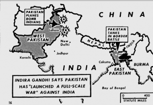 The Pakistani Blitzkrieg - Daytona Beach Morning Journal, 4th December 1971