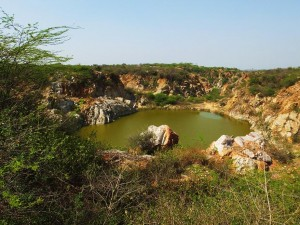 The second lake on Surajkund-Bhatti track
