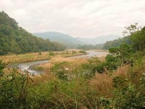 View of Ramganga from Dhangari - Dhikala road, Corbett Tiger Reserve