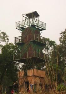 Watch Tower near Dhikala, Corbett Tiger Reserve