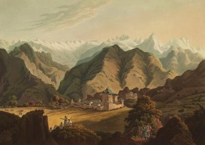 Seran Raja's palace by James Baillie Fraser 1820