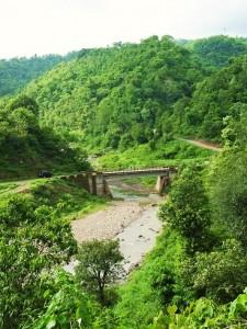Bridge across Dehi nadi