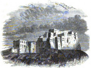 Miri, Citadel of Kalat; Charles Masson Esq. 1842