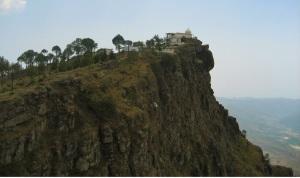 Cliff-side Temple of Bhuri Singh Deota, Sirmaur