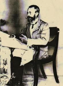 Arthur Ross Wilson, Esquire 1848-1923 at Khali Estate, Binsar, Almora (1907)