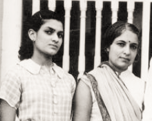 Chandralekha with Vijaya Lakshmi
