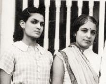 Chandralekha with Vijaya Lakshmi