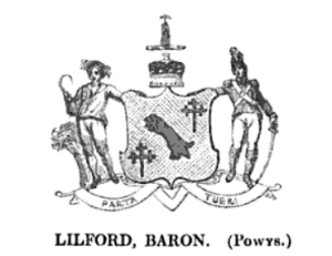 Coat of Arms of the Powys