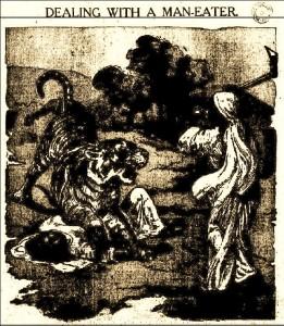 Dealing with a Man-eater, Binsar