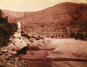 Khyrna Bridge on the road to Ranikhet; Lawrie and Company, G.W. (1895)